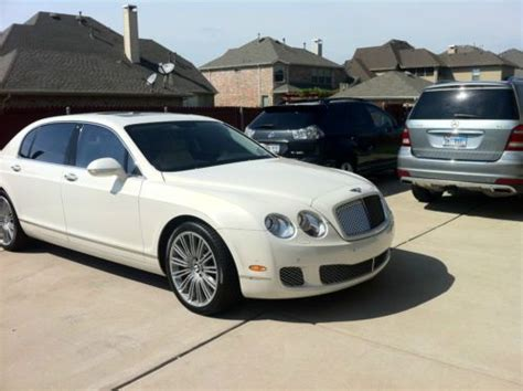 bentley flying spur 2 door sell used 2010 bentley continental flying spur speed sedan