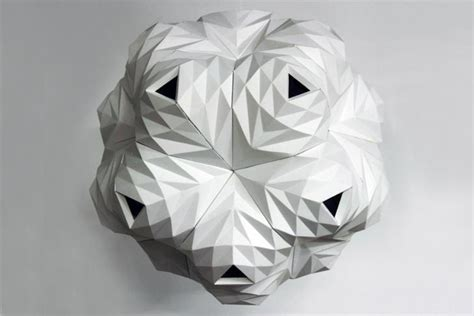 Paper Folding Design - lazerian unveils celestial ls made from folded paper