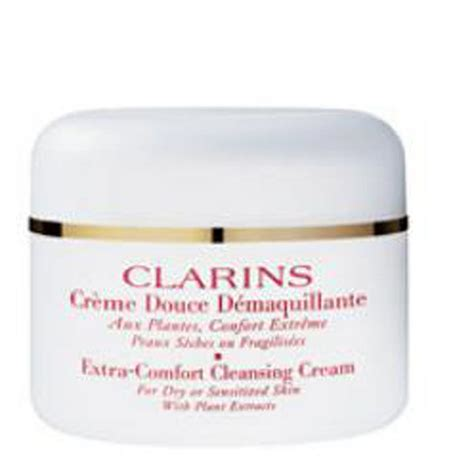 how to use clarins extra comfort cleansing cream clarins extra comfort cleansing cream 125ml free