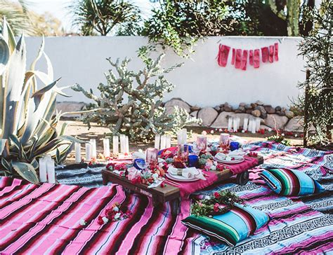 bohemian backyard end of summer bohemian backyard party inspired by this