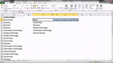 Exle Of Data Analysis In Research by Excel 2010 Ch 5 Statistical Analysis I Qualitative Data
