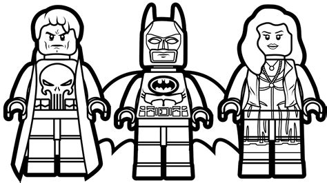 Coloring Page Lego Batman by Lego Batman Coloring Pages Printable Image