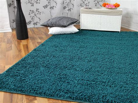 hochflor teppich günstig luxus wohnzimmer modern
