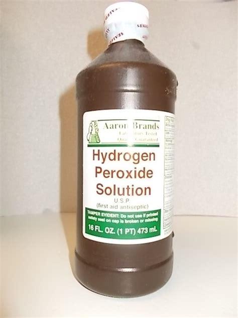 Hydrogen Peroxide Shelf using hydrogen peroxide h2o2 to purify water survival