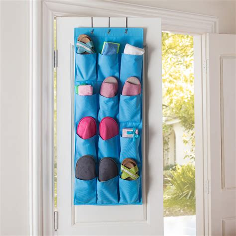 The Door 12 Pocket Organizer 12 pocket wall door closet hanging organizer pouch