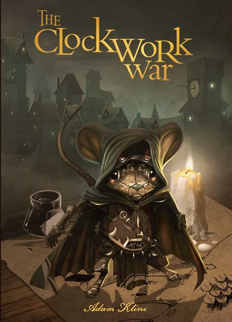clockwork war book  adam kline  whisker