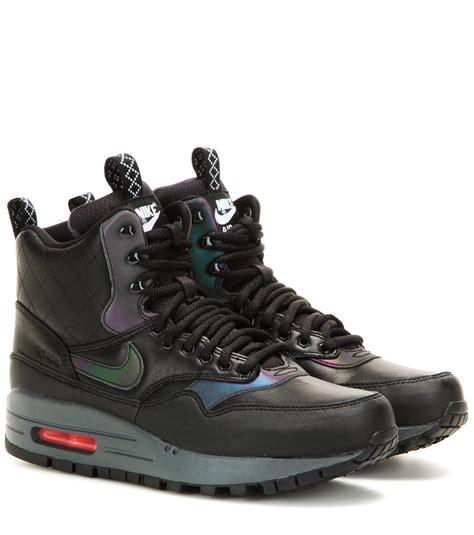 Sepatu Sneaker Nike Airmax Boot High Waterprof 1 nike air max 1 mid sneaker boots in black lyst