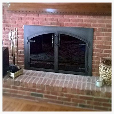 Arch Fireplace Doors by 17 Best Images About Fireplace Glass Doors On