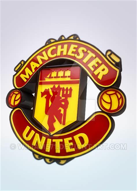 Mu 3d manchester united logo 3d by wiliam571 on deviantart