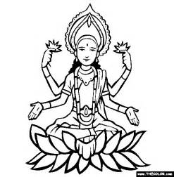 Hindu God Coloring Pages free hinduism coloring pages