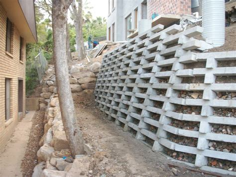 Concrete Crib Wall by All Landscape Services In Terrey Sydney Nsw