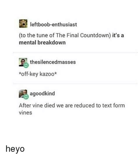 Its The Countdown by 25 Best Memes About Kazoo Kazoo Memes