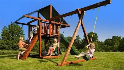 big kid swing set choosing the best swing set for your backyard bob s blogs