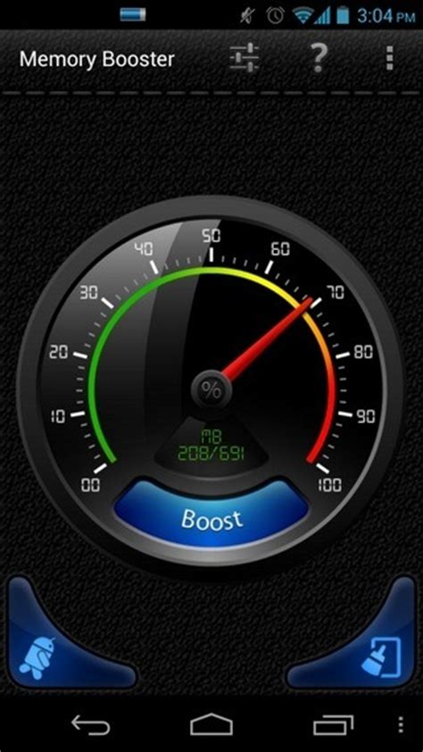 system memory android smart memory booster android system optimizer with a floating widget