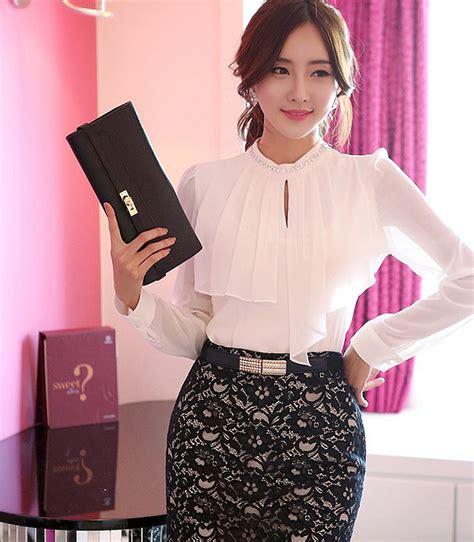 Blouse Putih jual blouse putih sleeved blouse