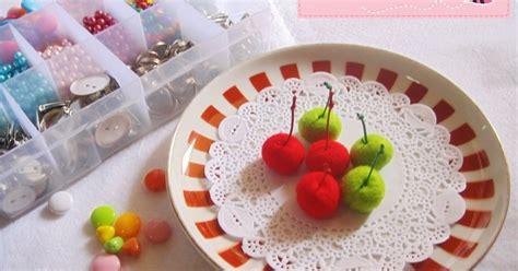 cara membuat cherry dari kain flanel itik bali handmade cara membuat cherry dari kain flanel itik bali handmade