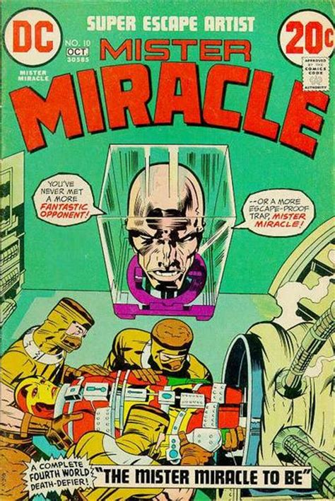 The Miracle Season Wiki Mister Miracle Vol 1 10 Dc Database Fandom Powered By Wikia