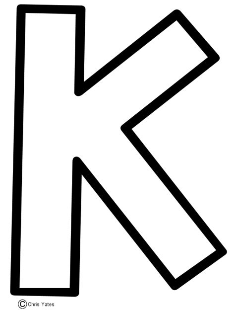 Letter K Drawing by Letter K Clipart Clipart Suggest