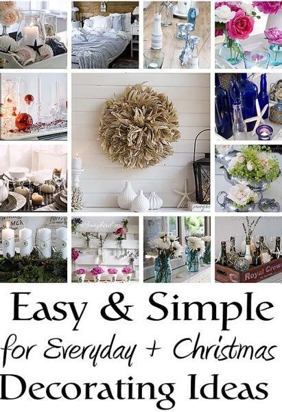 easy decoration ideas easy and simple decorating ideas