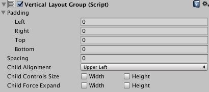 unity vertical layout group height prototyping ui in unity part 4 layout components