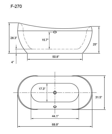 bathtub measurements 45 32 200 50 dimensions of a bathtub standard tub dimensions images