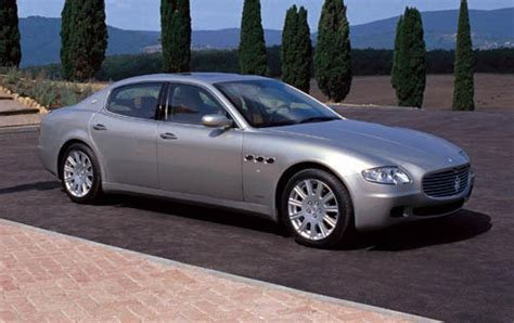2005 maserati quattroporte 2005 maserati quattroporte information and photos