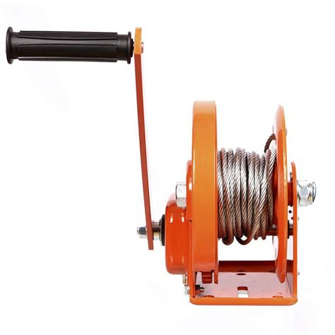 Sellery Winch 1200 Lbs crank gear winch 1200 lbs 20ft heavy duty atv boat trailer