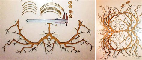 Diy Forest Chandelier 21 Diy Ls Chandeliers You Can Create From Everyday Objects Bored Panda