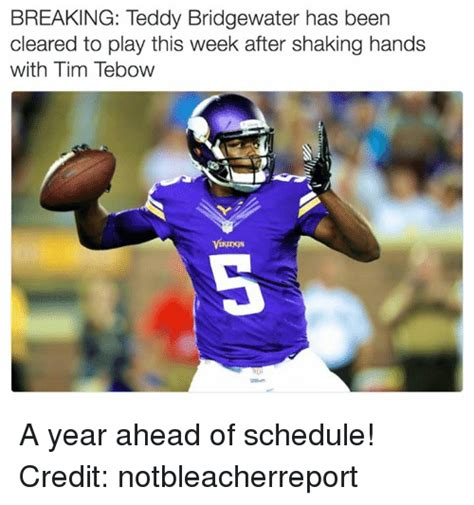 Teddy Bridgewater Memes - 25 best memes about teddy bridgewater teddy bridgewater