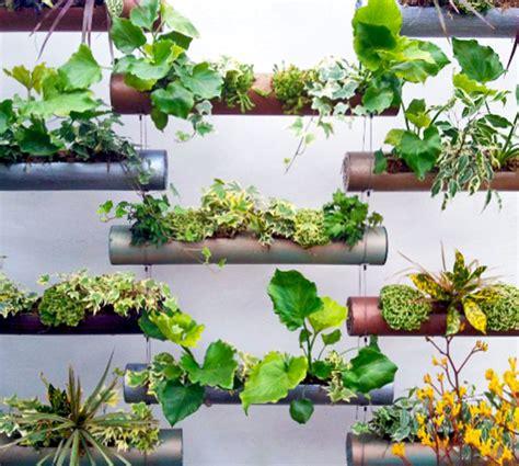 Vertical Garden Pipe Cool Indoor Outdoor Modular Cylinder Planters Gardens