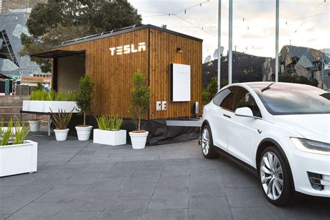 tesla house tesla s futuristic tiny house shows off its energy products in australia