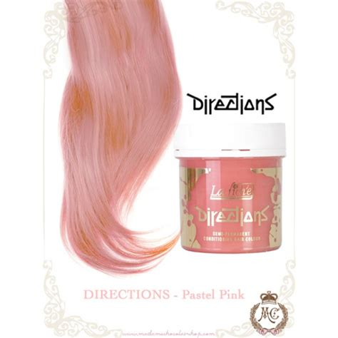 la riche directions semi permanent hair colour pastel pink directions hair colour pastel pink madame chocolat