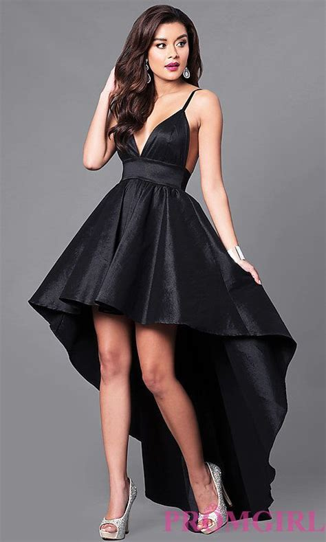 black high   neck prom dress  empire waist