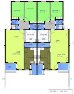 home plan search house plans for 2 bedroom semi detached bungalow