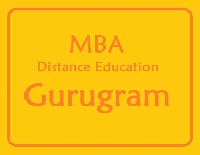 Mba Distance Programs by Mba Distance Education Courses In Gurugram