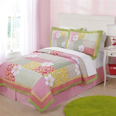 little girls bedding sets white wooden bed with peach head board combined with peach