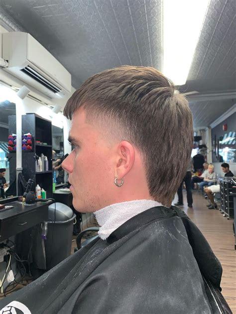 mullet taper barber mohawk hairstyles men mullet