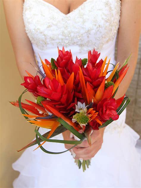 Types Of Flower Arrangements by Top 5 Tropical Wedding Bouquets Mon Cheri Bridals