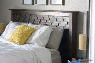 Diy Queen Headboard by Ana White Wood Shim Cassidy Bed Queen Diy Projects
