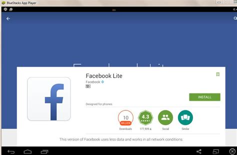 fb lite apk lite apk free for android install fb lite on pc