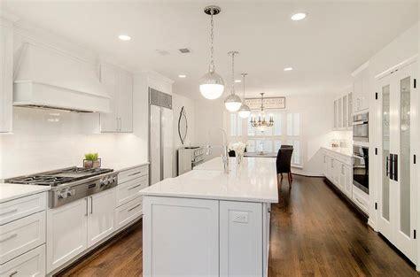 long kitchens long kitchen island with hudson valley lighting lambert