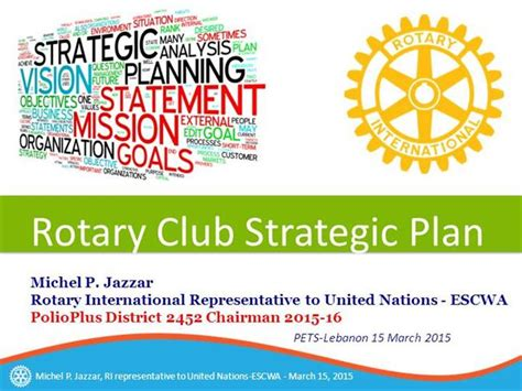 Strategic Plan For Rotary Clubs 2015 Authorstream Rotary Club Strategic Plan Template