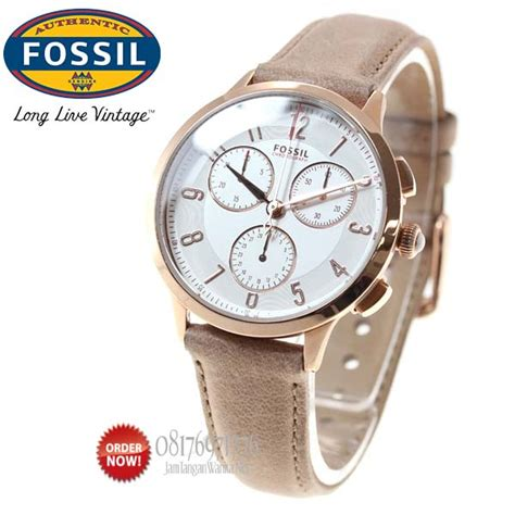 Promo Fossil Fs5000 Leather Vintage Chronograph promo jam tangan fossil ch3016 original