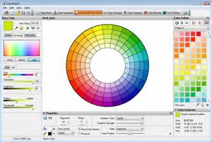 Designer Colours by Colorimpact Sample Screen Shots
