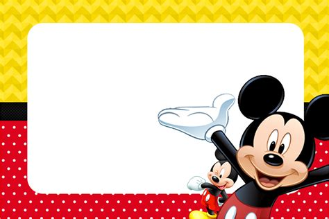 create mickey mouse clubhouse birthday invitations templates anouk