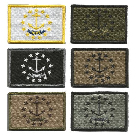 state tactical patches 2 quot x3 quot rhode island state tactical patches
