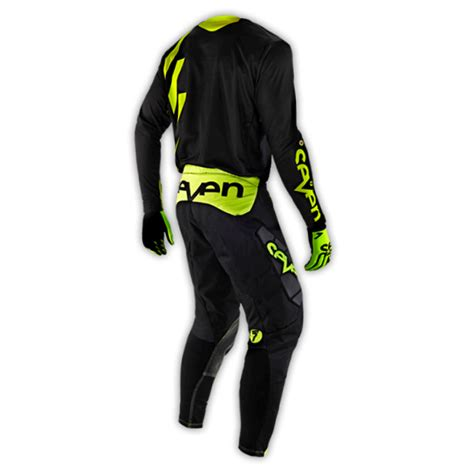 7 motocross gear seven new mx gear 2015 rival chop black yellow stewart