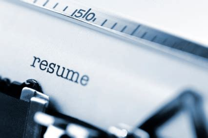 Resume Must Haves 2016
