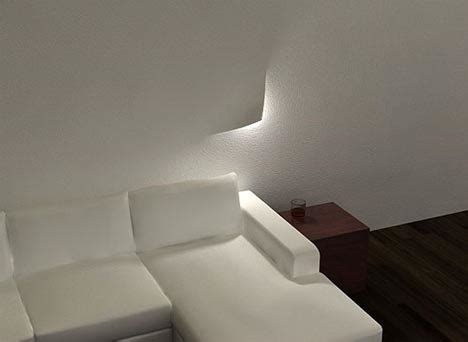light designs torn lights creative peel away interior lighting idea