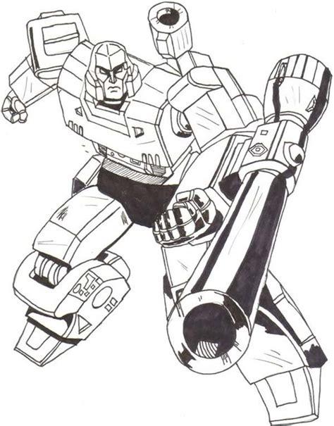 Drawing of Megatron Coloring Page   NetArt